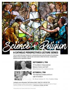 Dcience and Religion Lecture Series